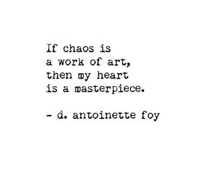 quotes, chaos, and art image