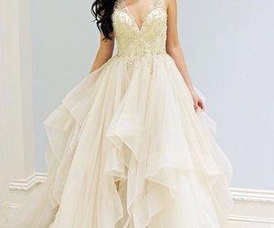 beautiful, prom dress, and dress image