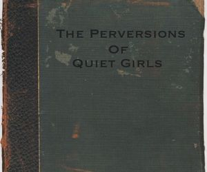 book, girl, and perversion image