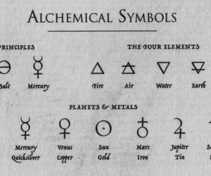 symbol, alchemy, and alchemical image