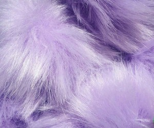 purple, aesthetic, and fur image