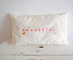 beautiful, photography, and pillow image