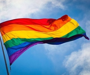 pride, sky, and lgbt image
