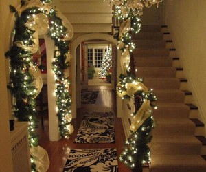 christmas, home, and winter image