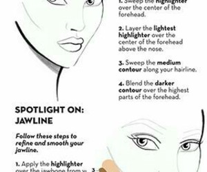 beauty, contour, and guide image