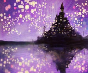 disney, tangled, and castle image