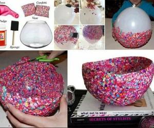 balon, renk, and hediye image
