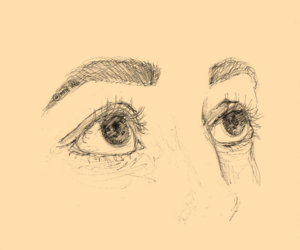 art and eyes image