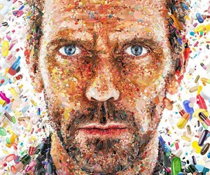 dr house, fanart, and house image