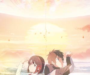 anime and kimi no nasa image