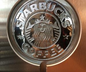 coffee, Logo, and starbucks image