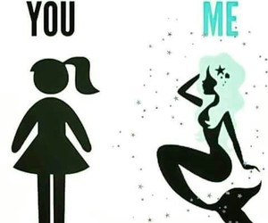 mermaid, me, and you image