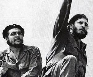 revolution, Che Guevara, and fidel castro image