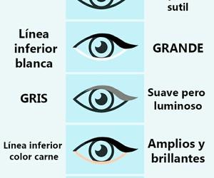colors, eye, and eyeliner image