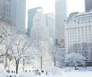 blanco, invierno, and paisaje image