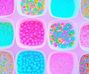 candy, bright, and pastel image