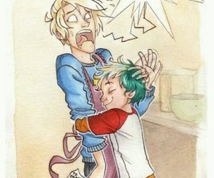 draco malfoy, harry potter, and teddy lupin image