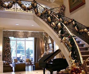 christmas, winter, and luxury image