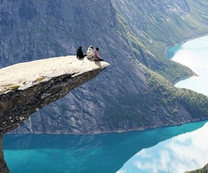 landscape, mountain, and norway image