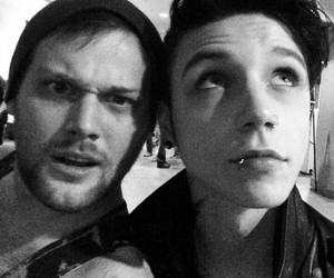 andy biersack, danny worsnop, and black veil brides image