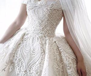 bridal, dresses, and wedding image