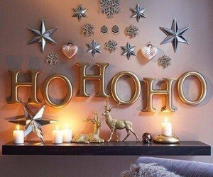 christmas, winter, and hohoho image
