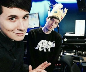 phan, dan and phil, and amazingphil image