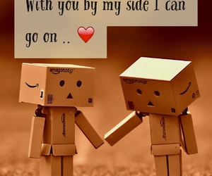 danbo, quote, and friend image