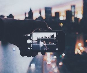 city, photography, and light image