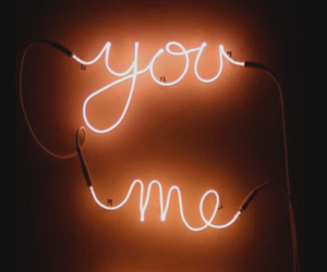 me, you, and neon image