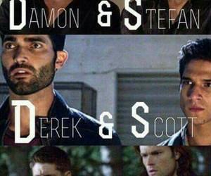 supernatural, Vampire Diaries, and teen wolf image