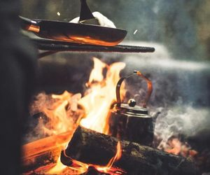 photography and fire image