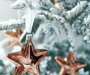 christmas, winter, and stars image