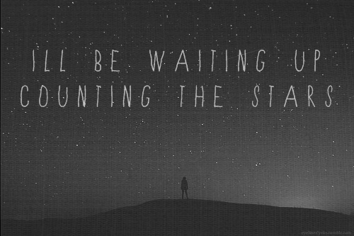 Counting Quote Stars Text Waiting Inspiring Picture On Favimcom