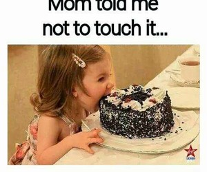 cake, funny, and lol image
