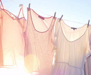 clothes, pink, and sun image