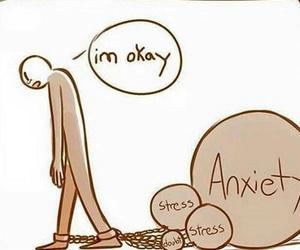 sad and stress image