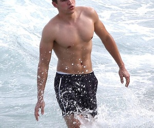 Hot, dave franco, and water image