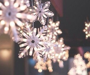 christmas, winter, and snowflake image