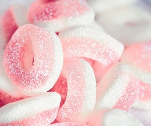 pink and candies image