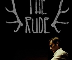 hannibal, hannibal lecter, and eat the rude image