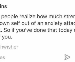 anxiety, live, and quotes image