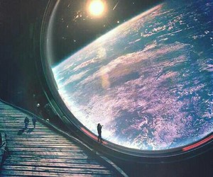 earth, sky, and space image