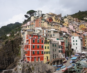 colourful, Houses, and italy image
