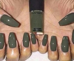 nails, mac, and green image