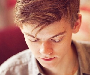 thomas sangster, newt, and the maze runner image