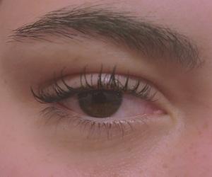 eye, pale, and smoke image