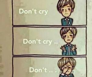 cry, sad, and boy image