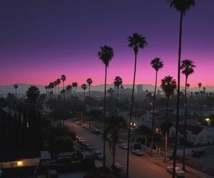 beautiful, pink, and purple image