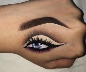 makeup, art, and beauty image